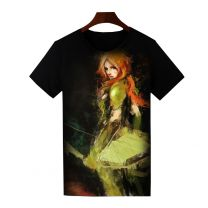 Dota 2 Windrunner Printed T-Shirt Short Sleeve Shirt