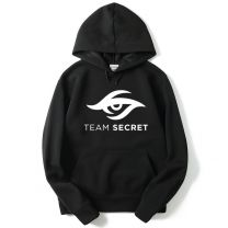 Team Secret Printed Pullover Hoodie