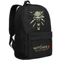 The Witcher 3 Wild Hunt Backpack School Bag