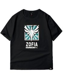 Tom Clancy's Rainbow Six Siege Zofia T-shirt Cotton Tee Shirt
