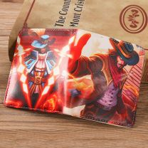 Twisted Fate League of Legend Short Wallet