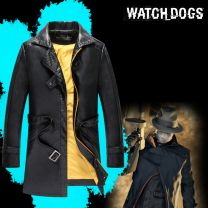 Watch Dogs Aiden Pearce Leather Windbreak