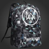 Watch Dogs Backpack Schoolbag