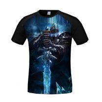 World of Warcraft Arthas Menethil 3D Printed T-Shirt