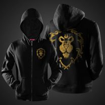 World of Warcraft  The Alliance Zipper Hoodie
