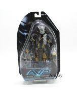 NECA Aliens vs Predator Series Masked Scar Predator PVC Action Figure