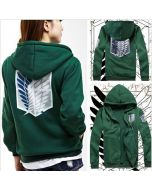 Attack on Titan Scouting Legion Hoodie Cosplay Costume