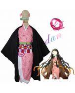 Demon Slayer Kamado Nezuko Cosplay Costume Cloak Cape