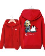 DOTA 2 Crystal Maiden Hooded Sweatshirt &  Zip Up Hoodie