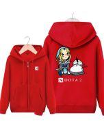 DOTA 2 Crystal Maiden Hooded Sweatshirt &  Zip Up Hoodie
