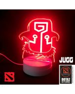 DOTA 2 Juggernaut Design LED Desk Lamp