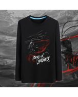 DOTA 2 Monkey King Design Black Sweatshirt Mens