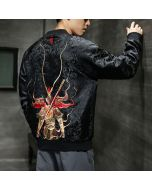 DOTA 2 Monkey King Design Embroidery Hoodie