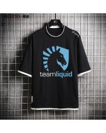 Dota 2 Team Liquid Short Sleeve T-shirt Cotton Tee Top