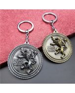 Game Of Thrones House Lannister keychain