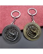 Game Of Thrones House Targaryen keychain