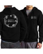 Game of thrones printed full zip hoodie hooded Sweatshirt
