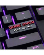 Game Over Yes or No Keycap Mechanical key Cap