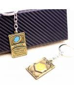 HearthStone Heroes Of Warcraft The Coin Logo Keychain