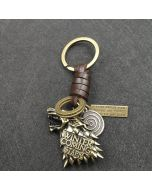 House Stark Game Of Thrones key chain