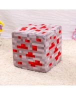 Minecraft Redstone Ore Soft Plush Stuffed Toys