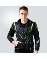 Overwatch Genji Design Premium Hoodie Jacket