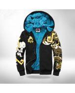 Overwatch hanzo printed plus velvet hoodie sweatshirt