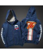 Overwatch Soldier 76 Pullover Hoodie  Sweatshirt