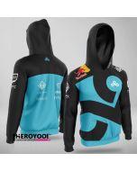 Team Cloud9 Player Jacket Full-zip Hoodie