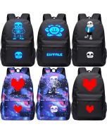 Undertale Backpack Luminous Student Bag