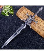 WOW Arthas Menethil Frostmourne Sword Keychain