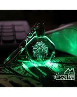 WOW World of Warcraft Crystal LED Key Chain