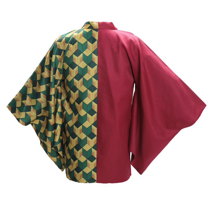 Demon Slayer Tomioka Giyuu Cosplay Costume Cloak Cape