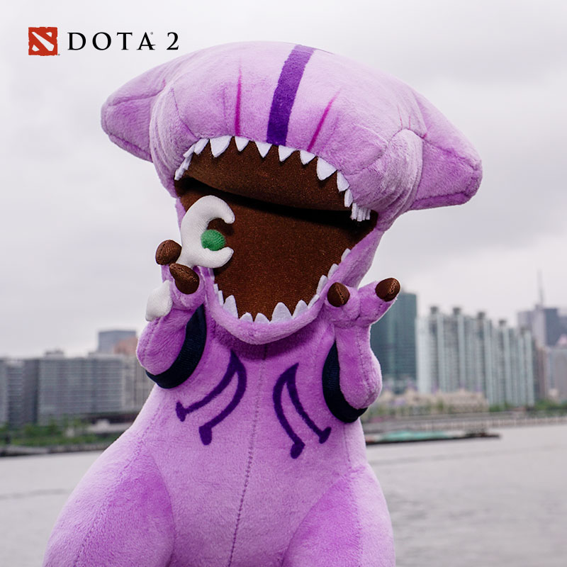 Dota 2 Faceless Void Soft Stuffed Plush Toy