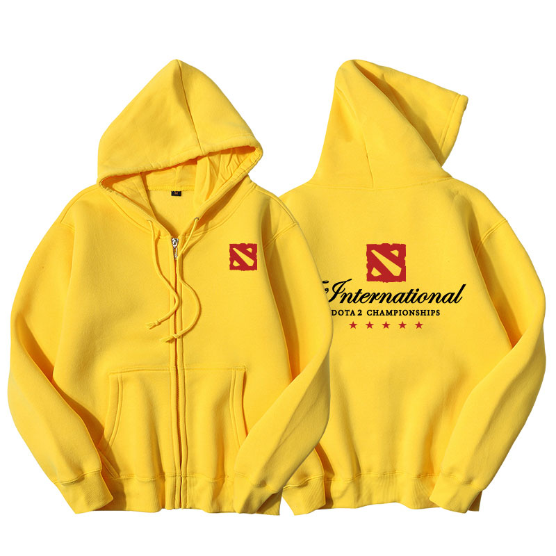 DOTA 2 TI9 The International Zipper Hoodie jacket