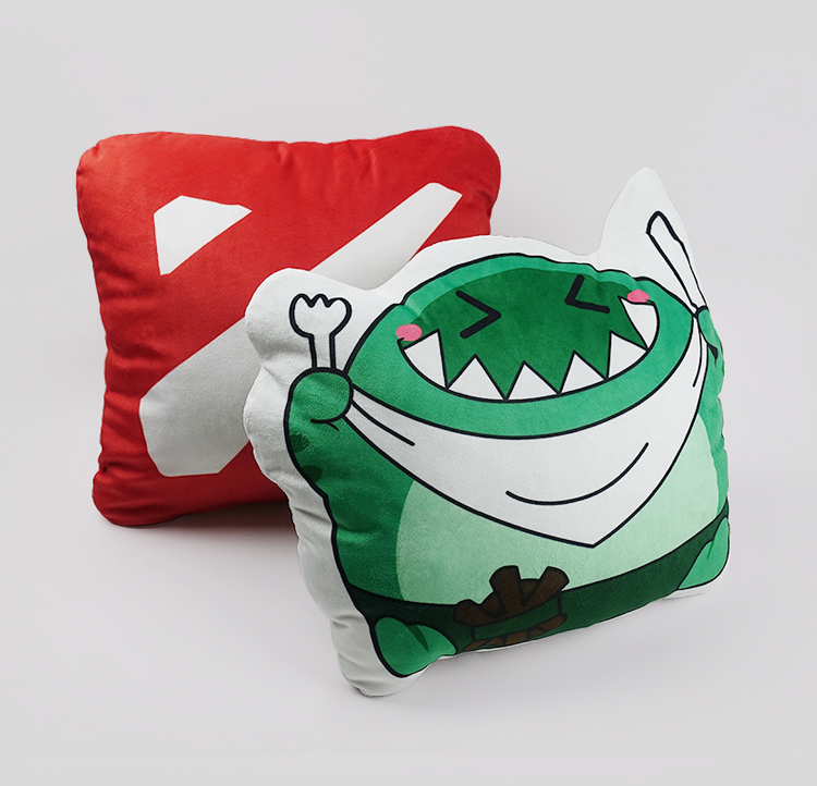Dota 2 Tidehunter Soft Stuffed Plush Pillow