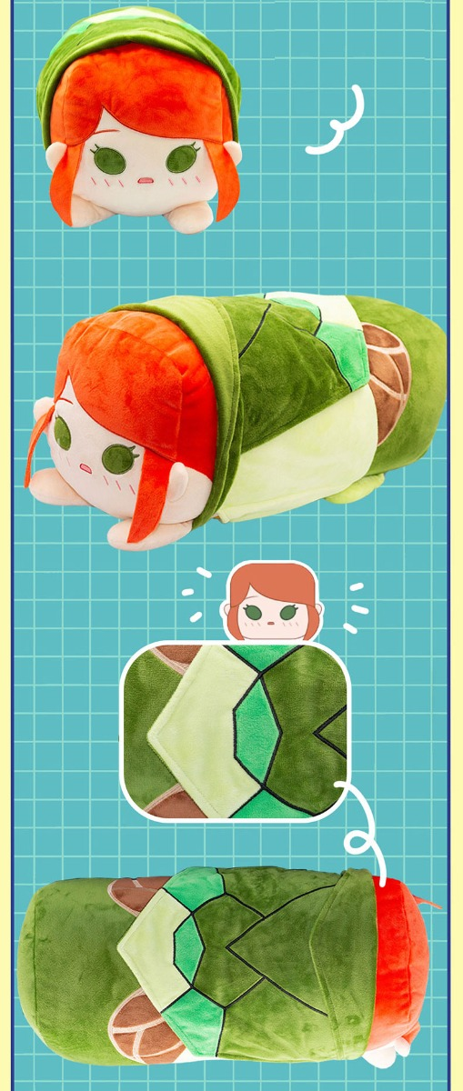 Dota 2 Windranger  Plush Soft Stuffed Pillow