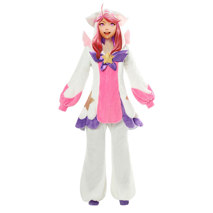 League of Legends Lux Pajama Star Guardian LOL Lux Cosplay Costume