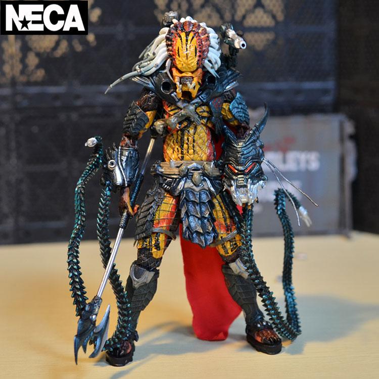 NECA Predator Clan Leader PVC Action figures