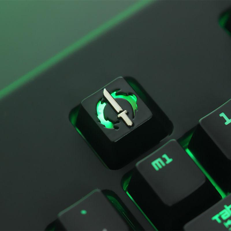 Overwatch Genji Backlit Mechanical Keyboard