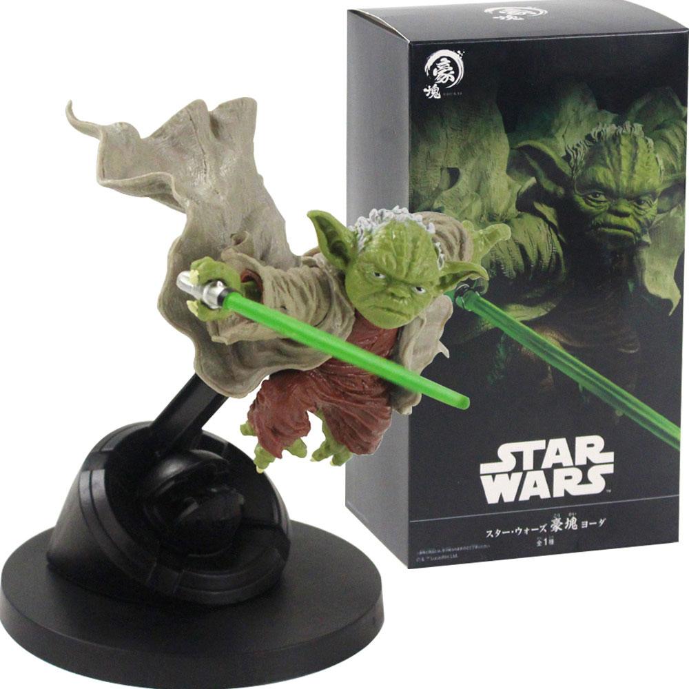 BStar Wars Master Yoda Jedi Knight Fighting Version Action Figure