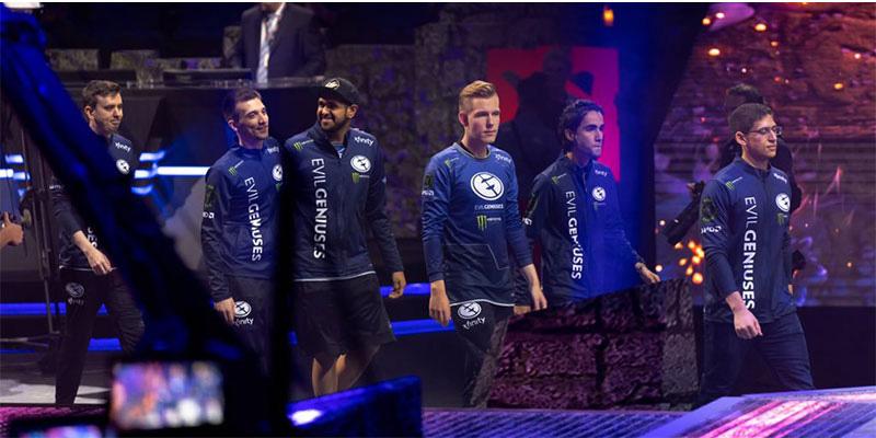 Team Evil Geniuses Jacket Full-zip Hoodie