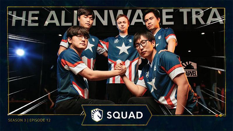 Team Liquid x MARVEL Jersey