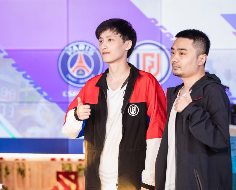 PSG.LGD Player Full Zip Jacket Outerwear