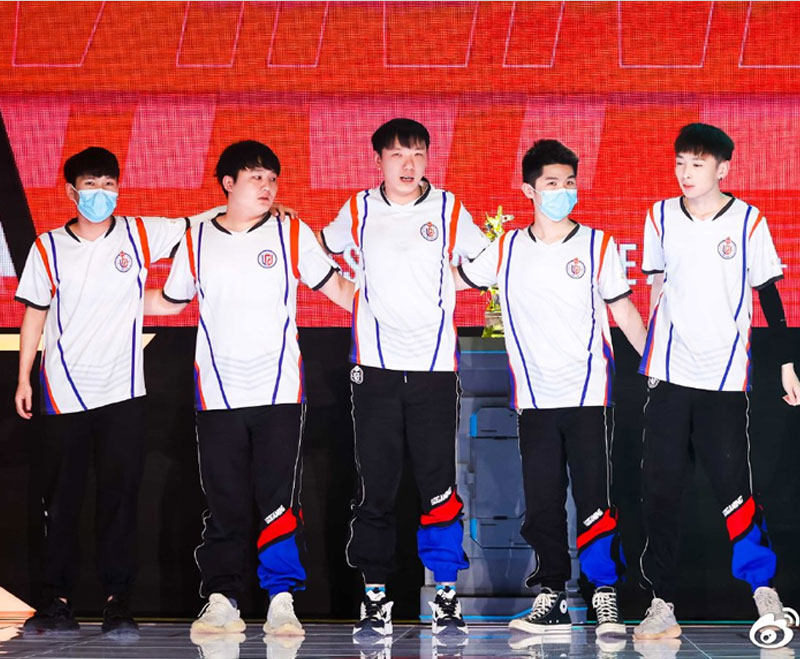 Team PSG.LGD Player Jersey Short Sleeve T-shirt