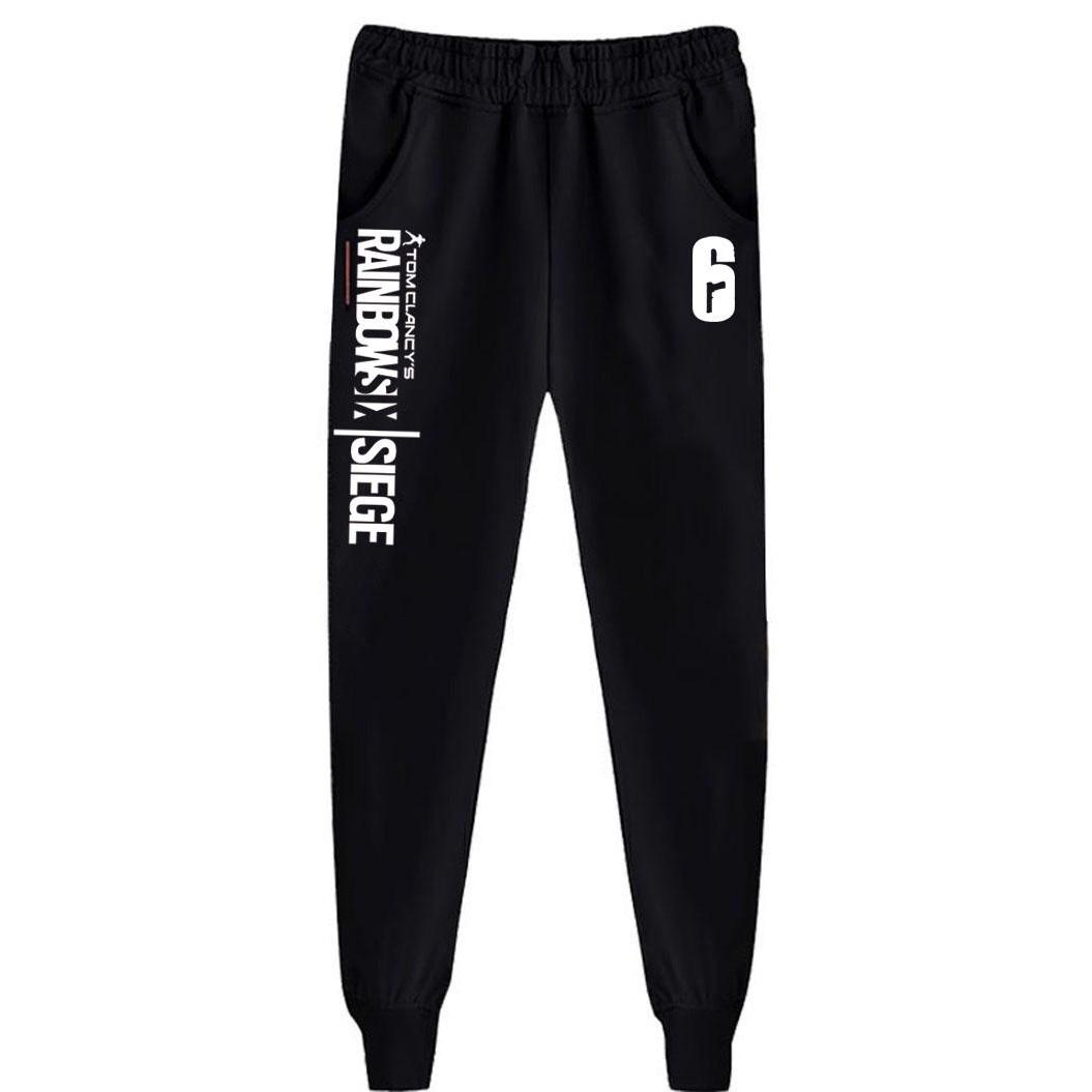 Tom Clancy's Rainbow Six Siege Cotton Sweatpants Adjustable Waist Trousers