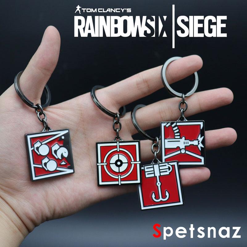 Tom Clancy's Rainbow Six Siege Keychain Key Ring