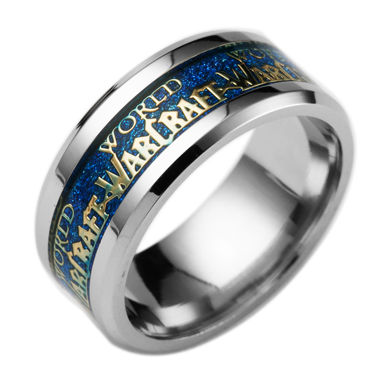 World of Warcraft Horde Alliance Symbol Ring