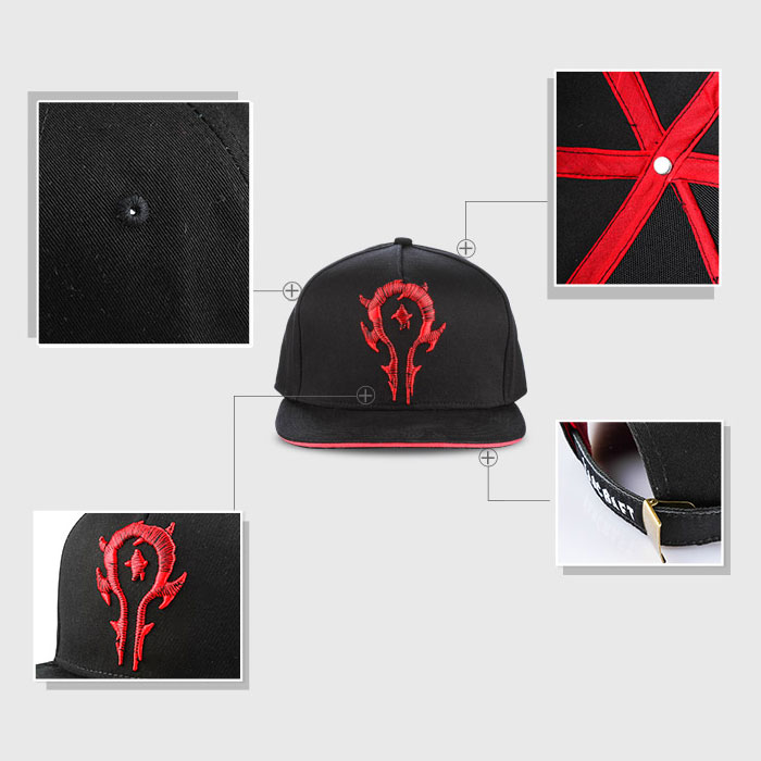 World of Warcraft Horde Drawstring Bag & Hat Set