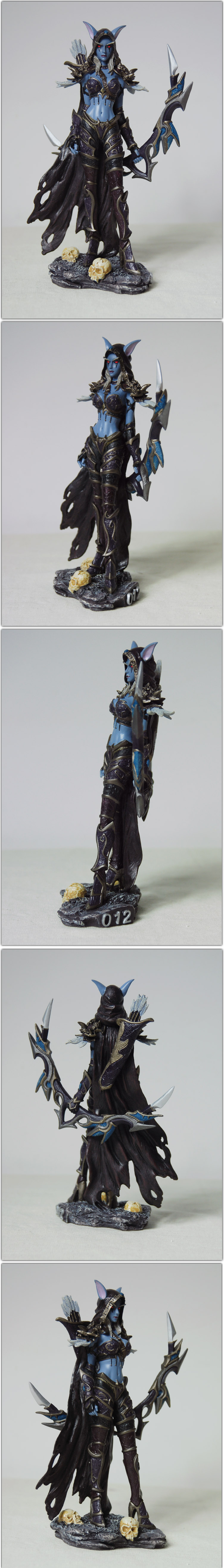 Dota 2 Drow Ranger Action Figure Model